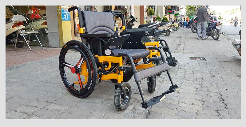 Xe lăn điện thông minh chống lật ngược TM057 4