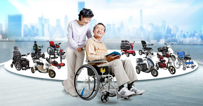Xe lăn là quà tặng ý nghĩa cho người khuyết tật