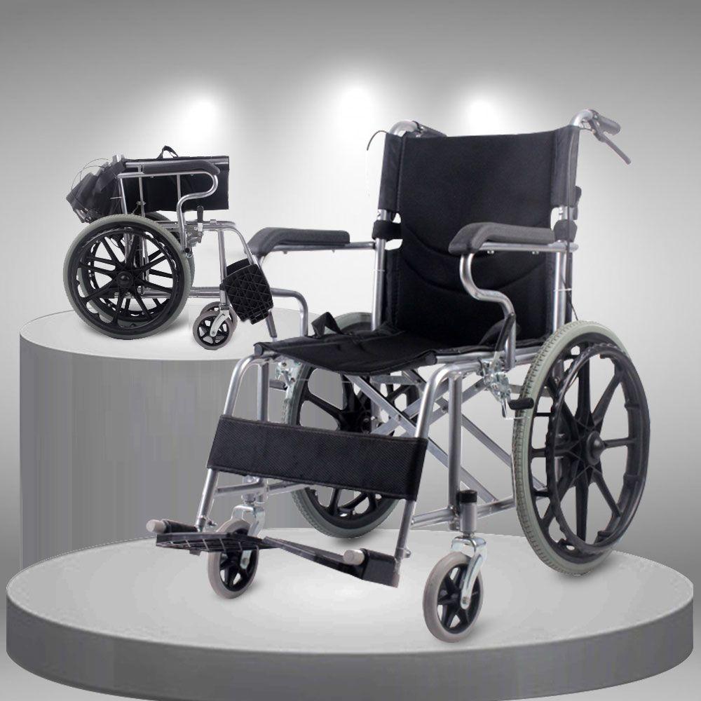 Xe lăn tay cao cấp vành đúc bánh to TM113N 2