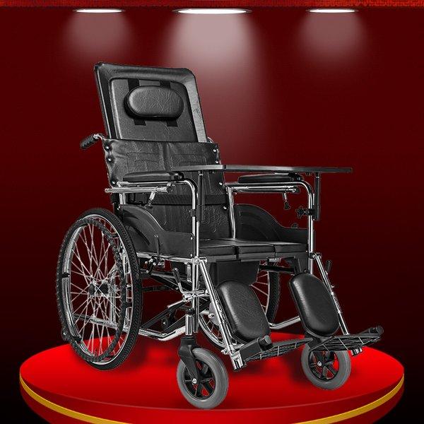 Mẫu xe lăn tay đa dụng cho đối tượng người già hiện nay