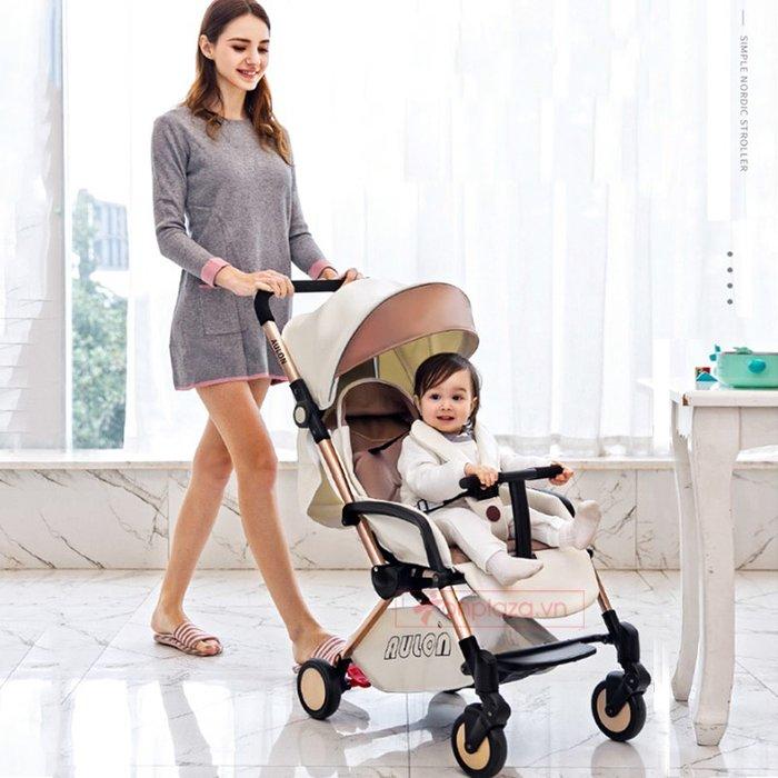 Xe nôi giảm chấn cao cấp phiên bản đa năng tiện lợi cho bé