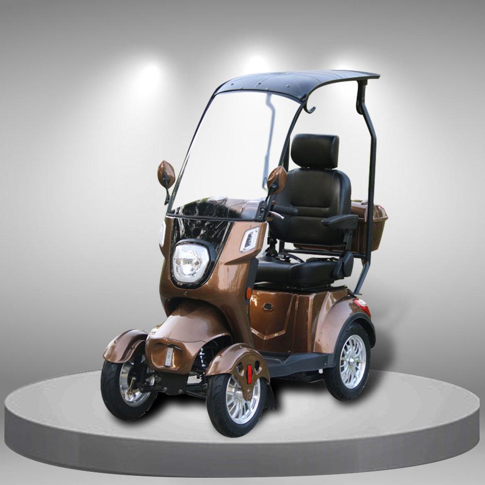 Xe tay ga điện 4 bánh kiểu dáng thời trang nhập khẩu cao cấp TM104