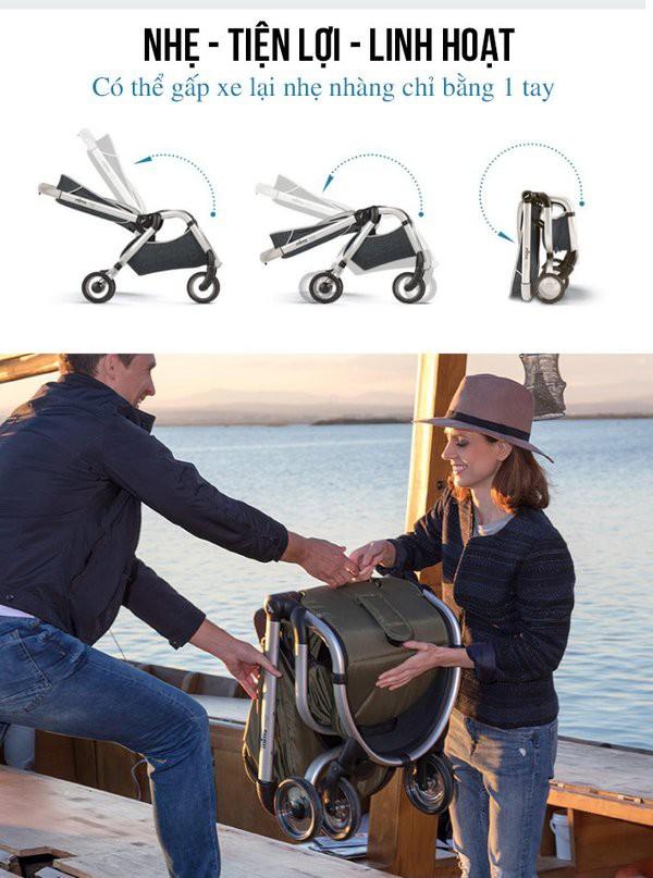 Các dòng xe đẩy cho bé đi du lịch chính hãng tốt nhất hiện nay