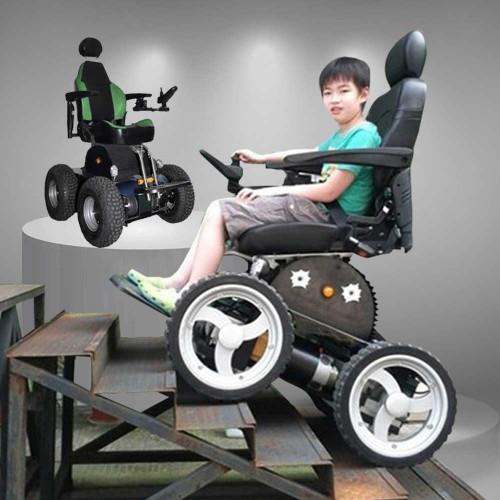 Xe lăn điện điều khiển bằng tay phục hồi chức năng TM008